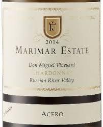 Marimar Estate, Acero,Chardonnay Unoaked -1215