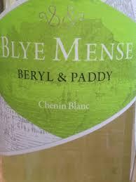 Blye Mense- Chenin Blanc-0