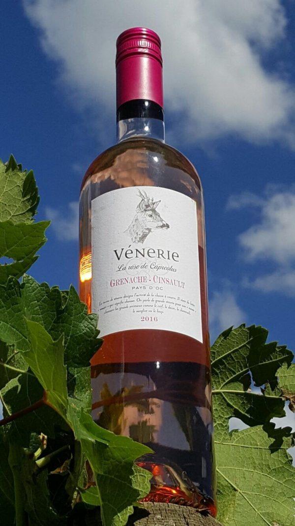 Vénerie: Grenache - Cinsault Rose-0